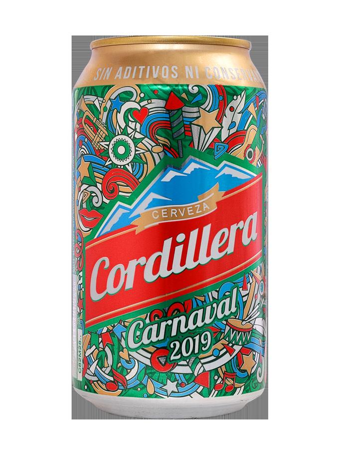 Cerveza Cordillera presenta su lata  carnavalera en el Carnaval Boliviano
