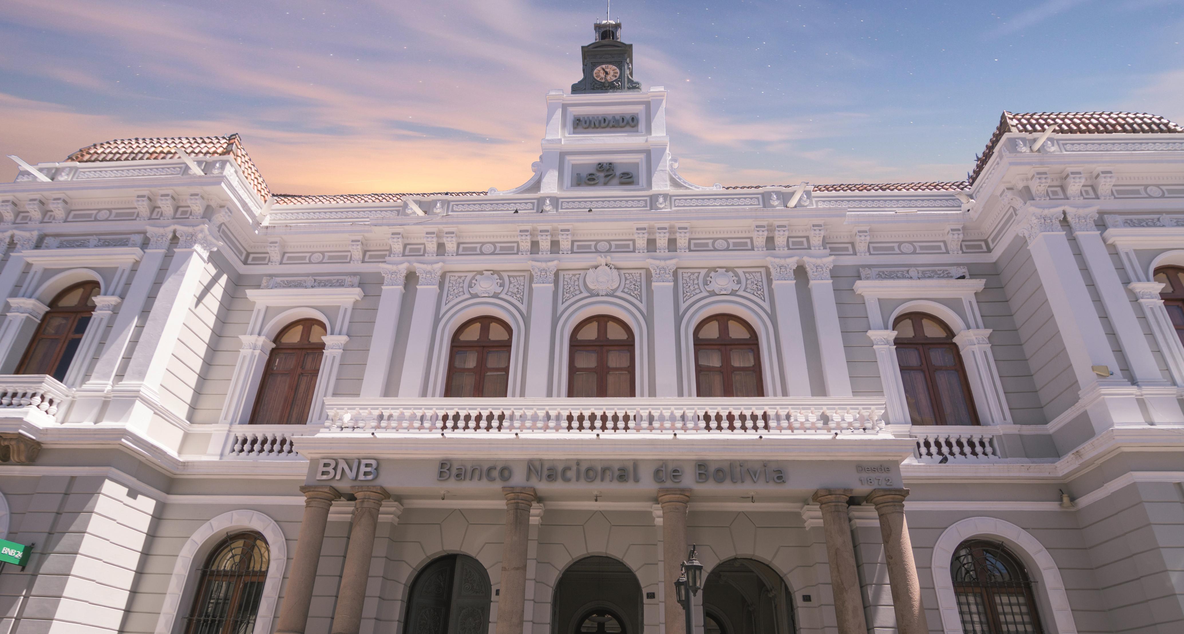 Banco Nacional de Bolivia (BNB) cumple 147 años