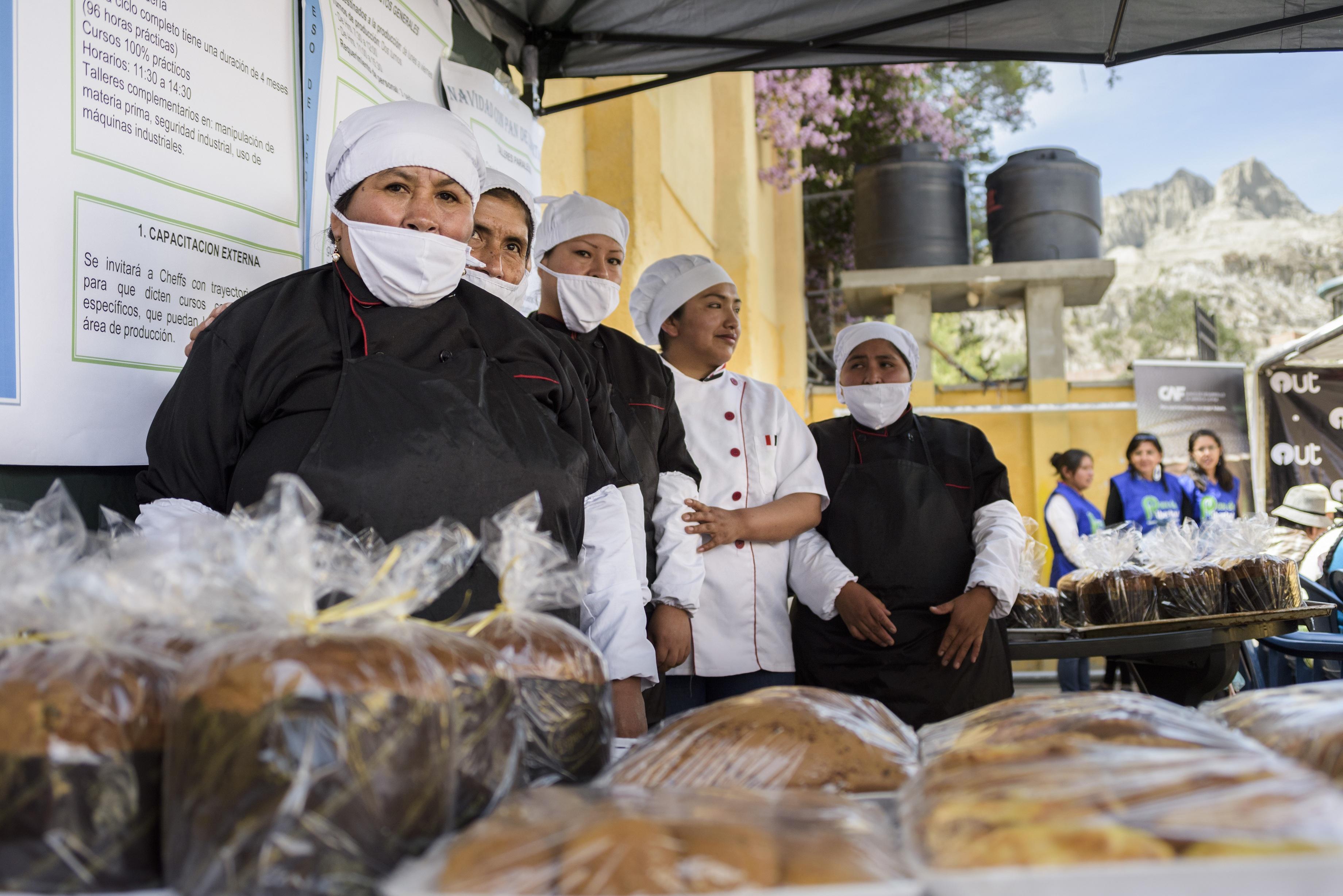CAF aplica con éxito iniciativas de innovación social de apoyo a grupos vulnerables en Bolivia