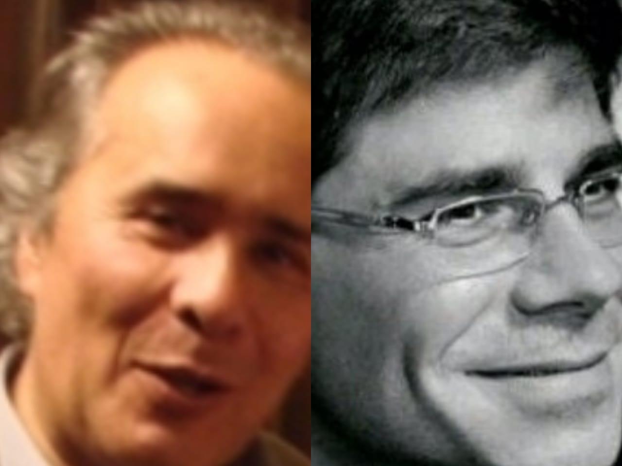 Duro cruce protagonizaron senador Carlos P. Klinsky y sociólogo Julio Aliaga: el legislador defendía a Santa Cruz de la arremetida de Aliaga