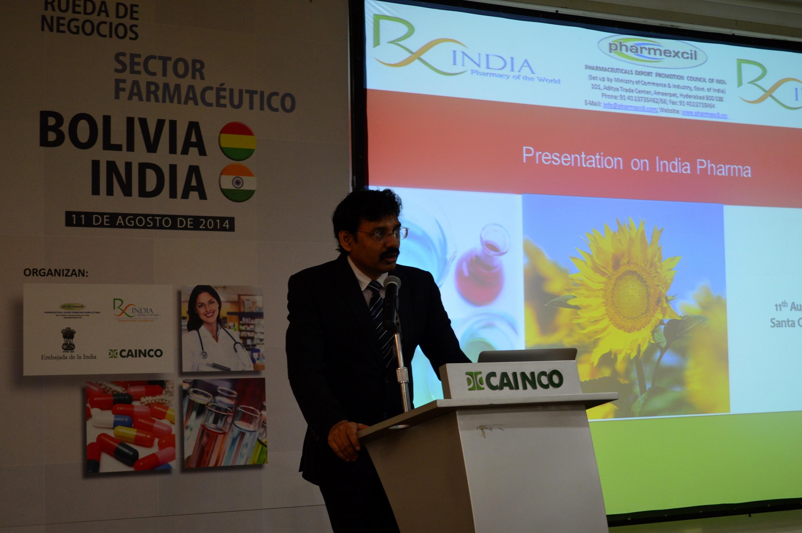 India viene a hacer negocios con empresas bolivianas