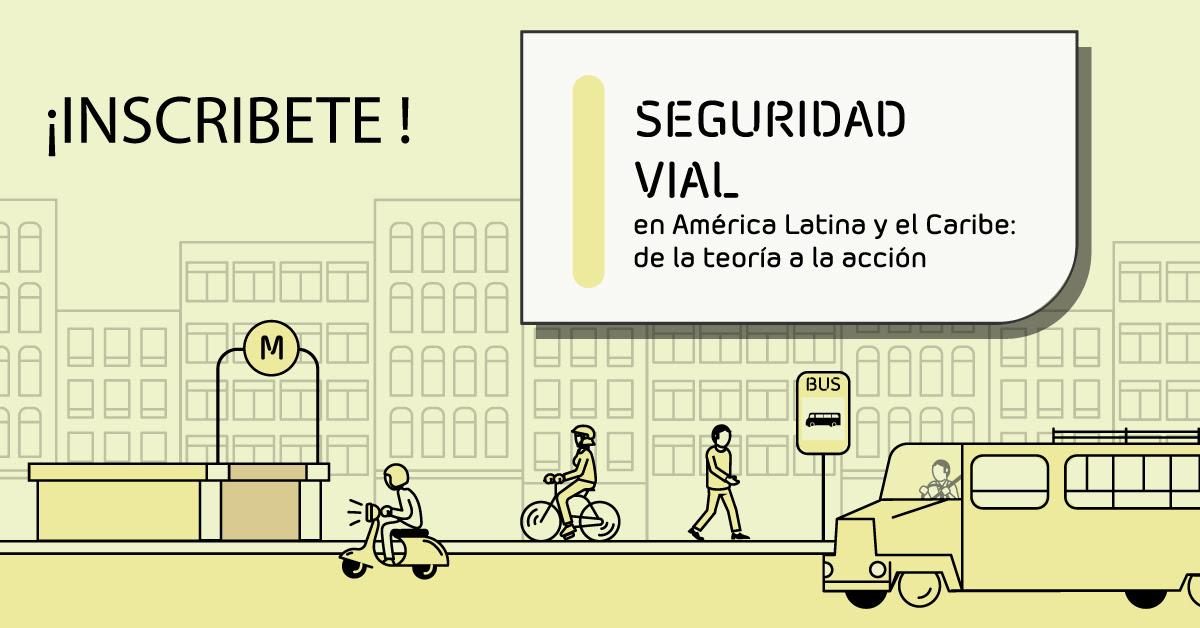 """BID Lanza Curso Virtual Gratuito en """"Seguridad Vial en América Latina"""""""