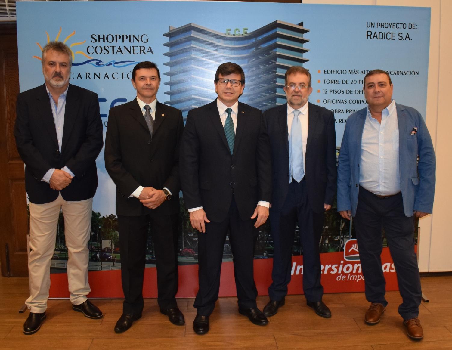 Bolivia y Paraguay lanzan el mega proyecto  Shopping Costanera & Executive Center – Encarnación