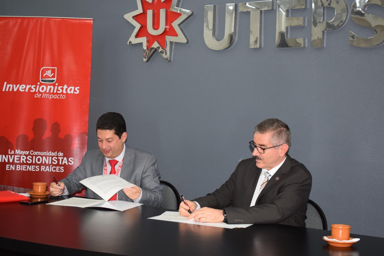 Alianza entre Inversionistas de Impacto y UTEPSA para formar y certificar agentes inmobiliarios