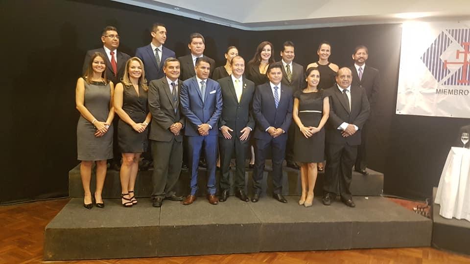 Colegio de Administradores de Empresas posesionó su nuevo directorio gestión 2019 – 2022.