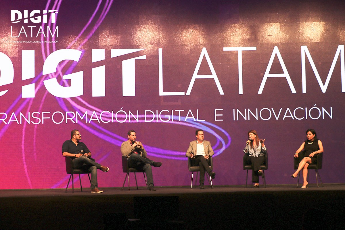 El Digit Latam, reunió a grandes actores de habla hispana del mundo corporativo y a exitosos emprendedores de Startups a nivel Latinoamérica