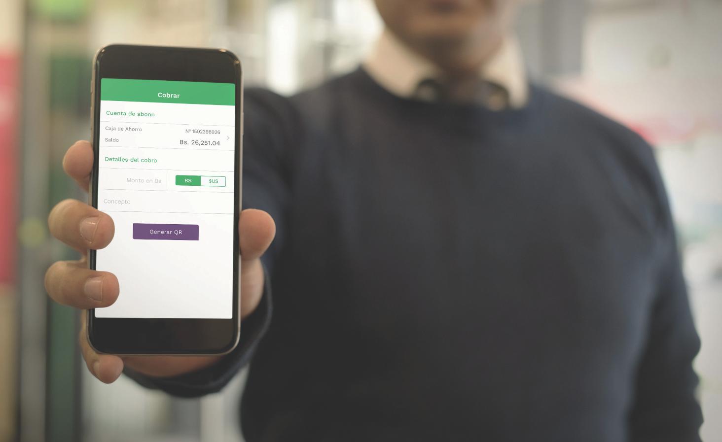 Más de 20 mil transacciones realizadas por QR a través de App del BNB