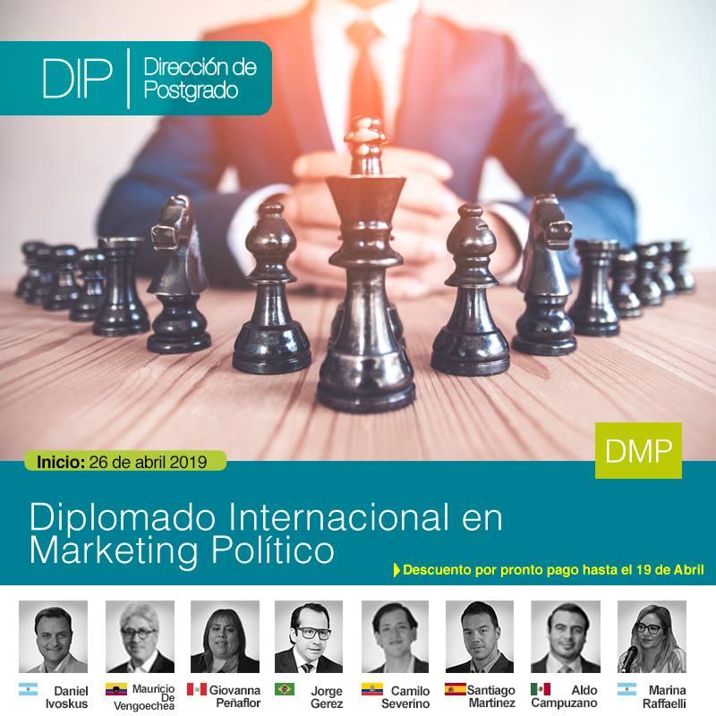 Diplomado en Marketing Político en la UPSA