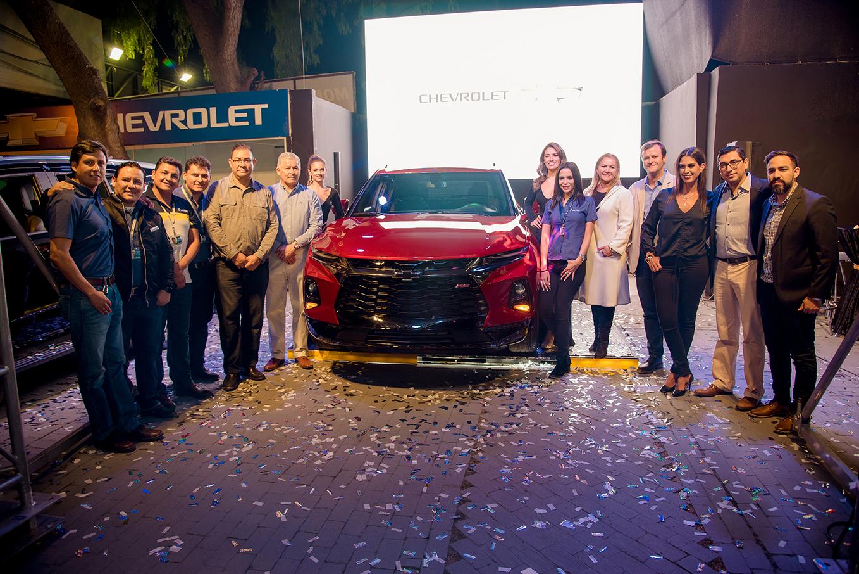 La nueva Chevrolet Blazer muestra en la Feicobol la expresión más audaz y progresiva del diseño de la marca