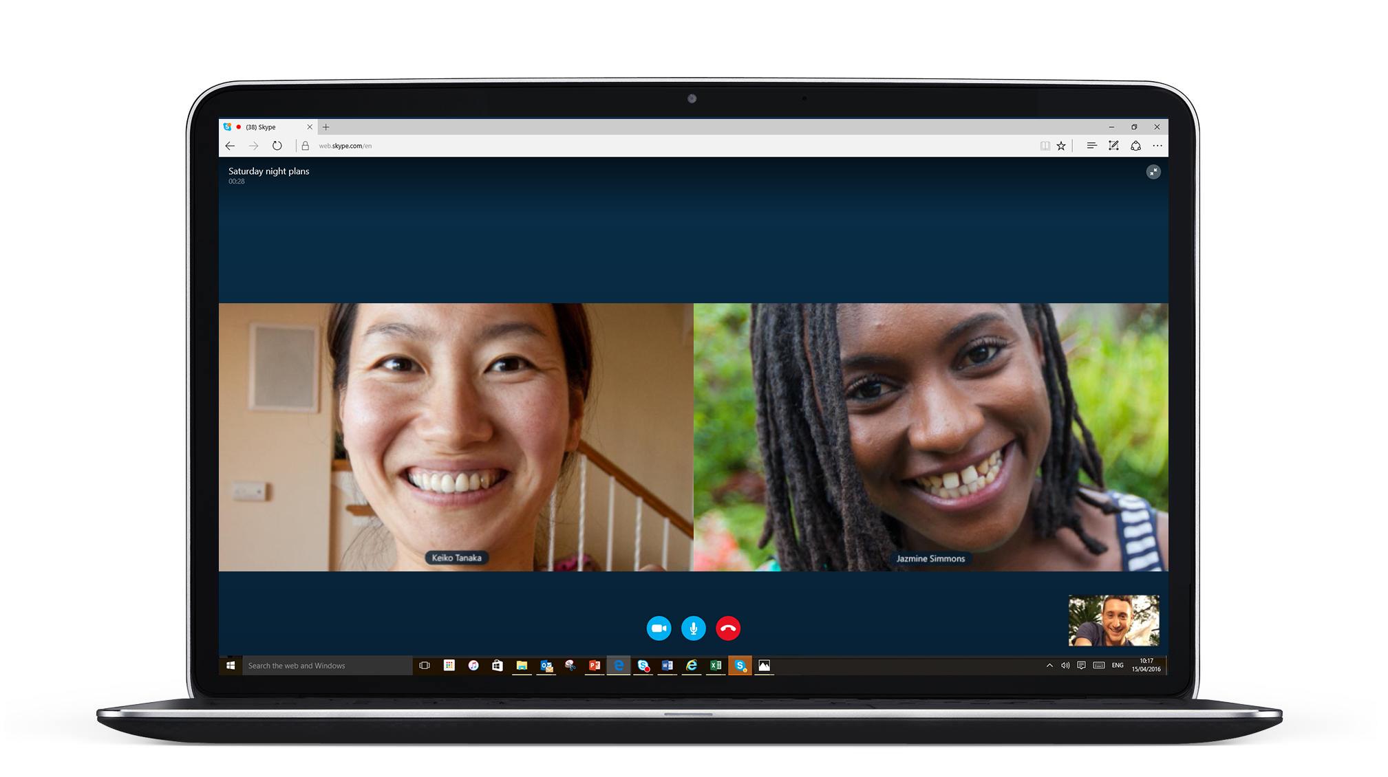 Skype añade una nueva función para llamadas grupales