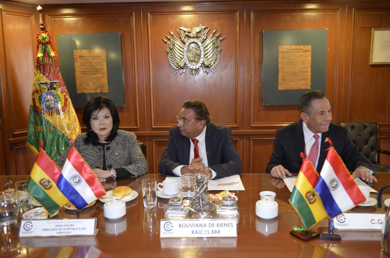 Nace Cámara de Comercio eIndustria Boliviano-Paraguaya