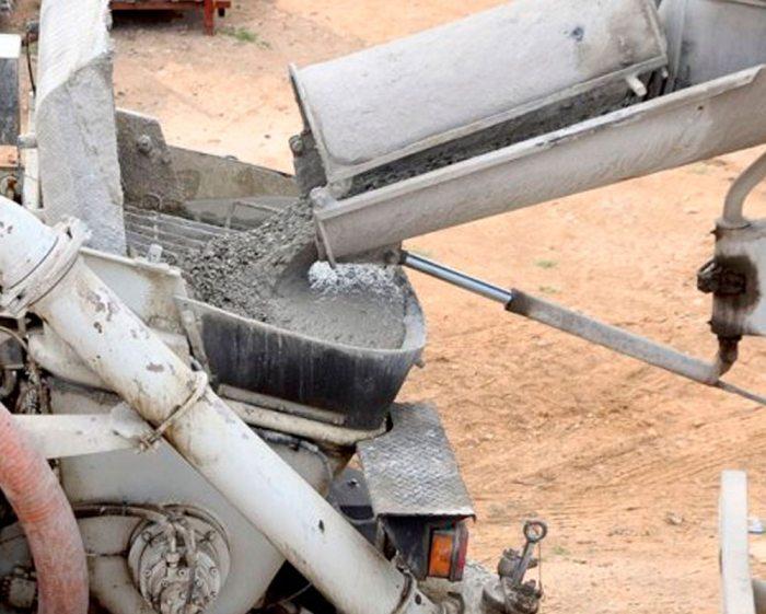 Plástico triturado en vez de arena en el concreto