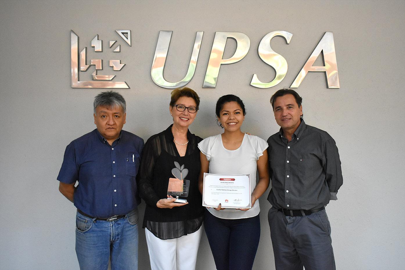 Estudiante UPSA gana viaje a China