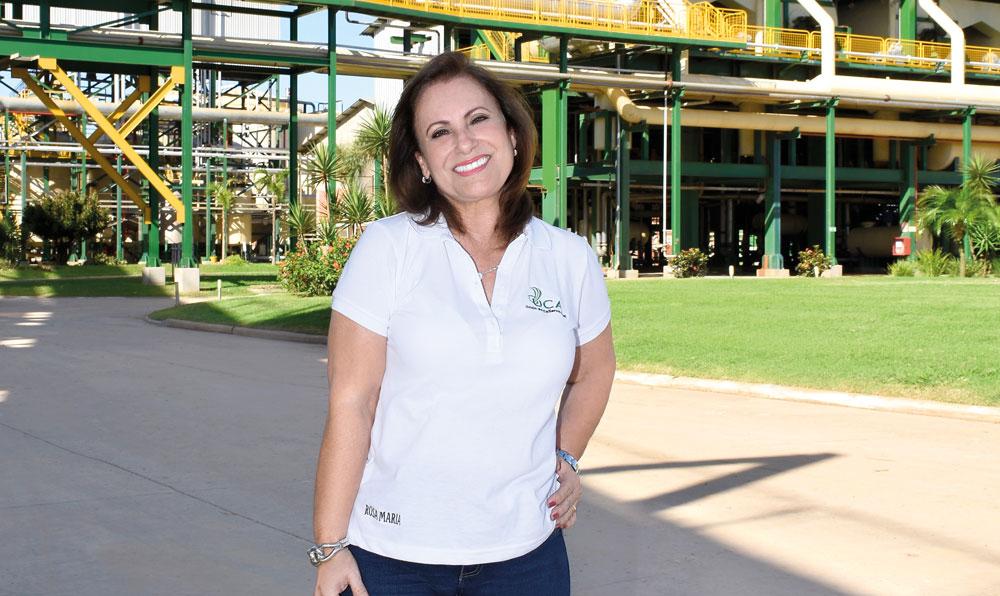 Colamarino, la mujer detrás del éxito del negocio azucarero