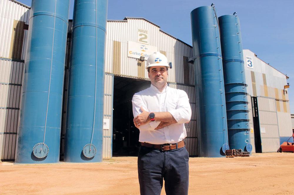 """Carlos Diego Caballero: """"Somos una firma confiable y referente en la industria"""""""