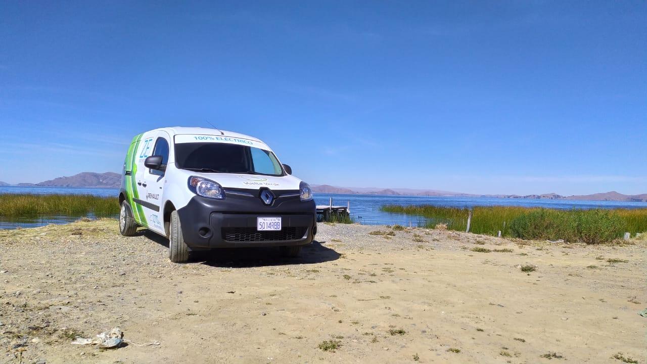 El vehículo eléctrico de Renault llega a La Paz
