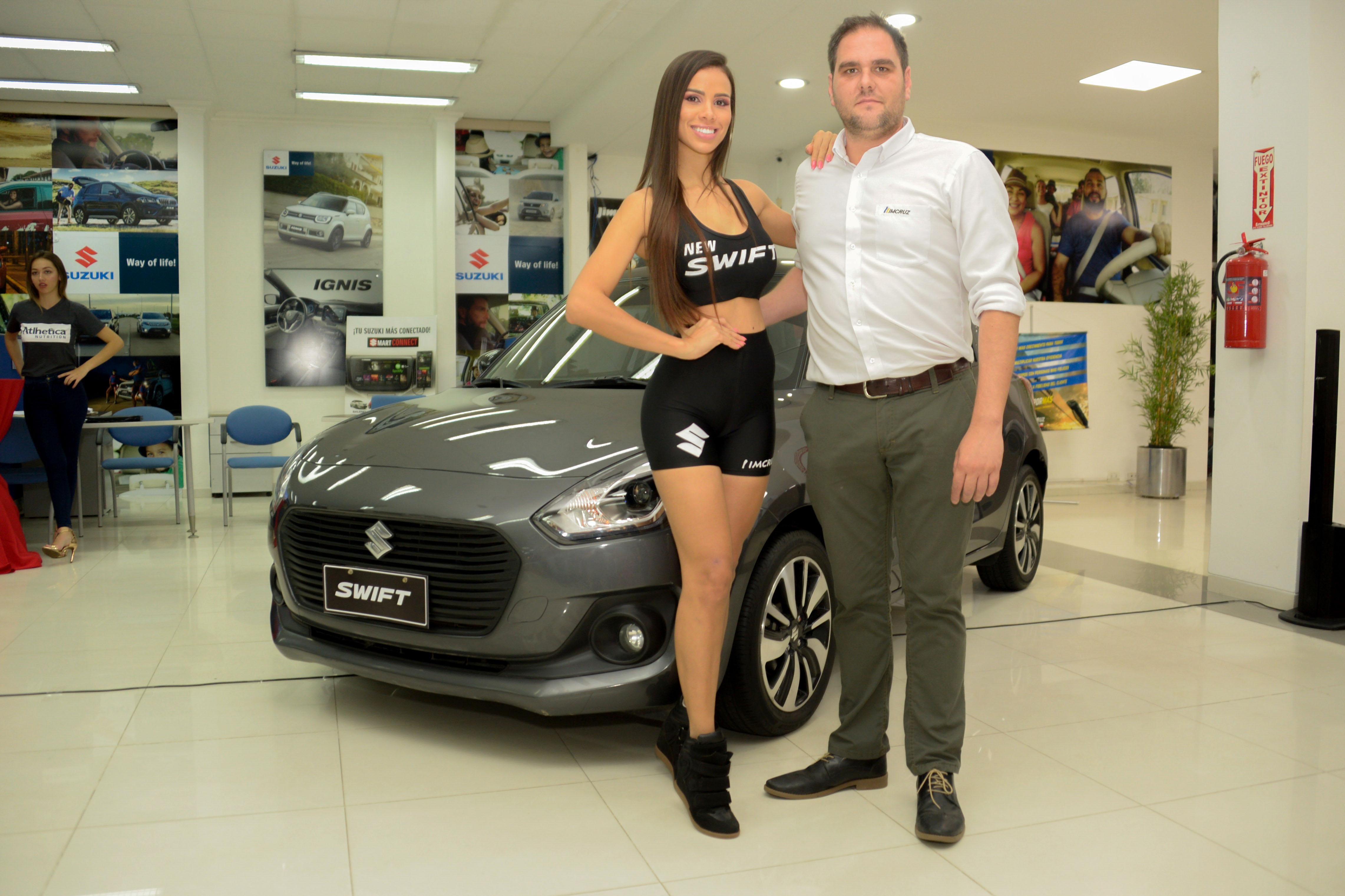 """Suzuki, patrocinador de """"Combate Bolivia"""", aprovecho el lanzamiento del evento deportivo para presentar el New Swift"""