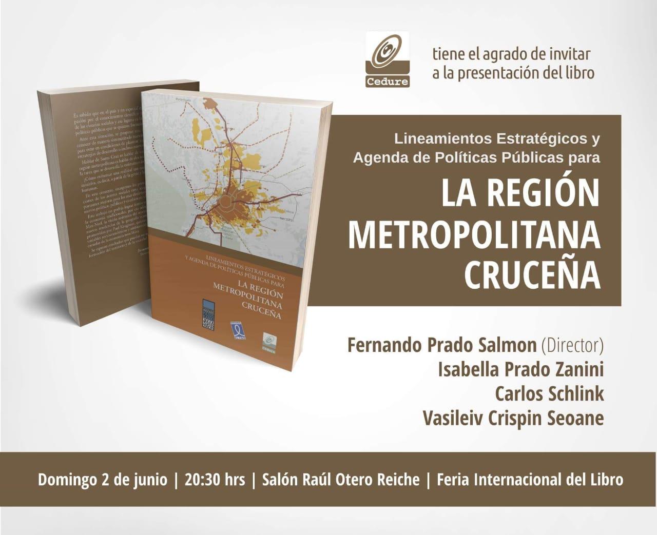 Nuevo libro para el análisis y la crítica: La región metropolitana cruceña