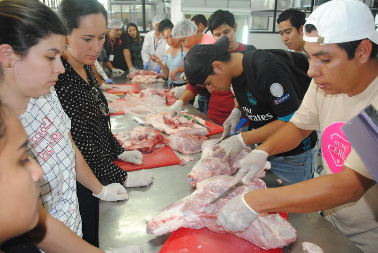 Se viene un taller técnico sobre la carne de cerdo