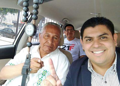 Candidato vicepresidencial Humberto Peinado reitera: achicar burocracia del estado y reducir impuestos