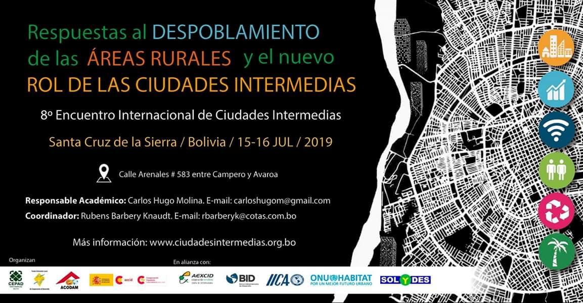8vo Encuentro Internacional de Ciudades Intermedias