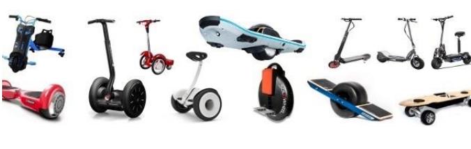VMP: vehículos de movilidad personal