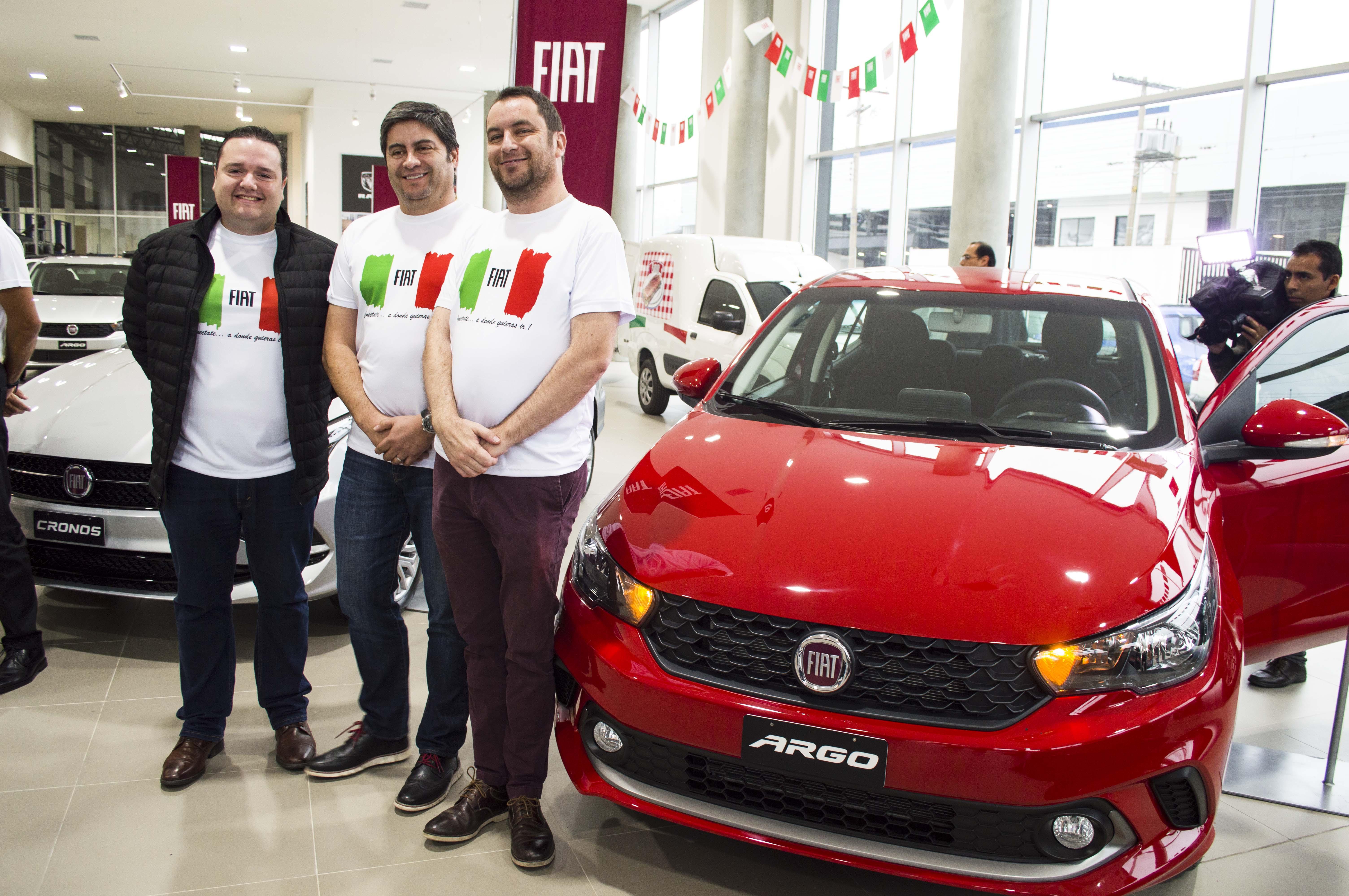 Fiat ARGO y Fiat CRONOS, los esperados  vehículos de Fiat llegan con estilo y conectividad