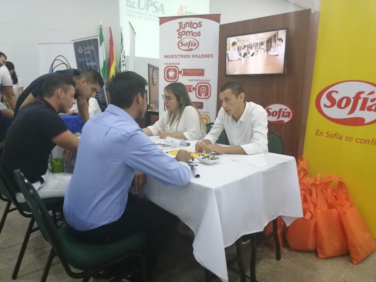 UPSA llevó a cabo la 4ª Feria de Vinculación Empresarial