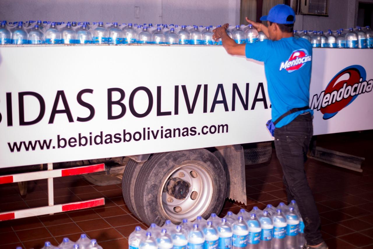 BBO-Mendocina entregó 10.000 litros de agua para afectados por el incendio