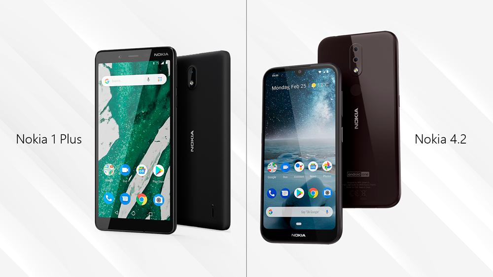 HMD Global anuncia la llegada de sus modelos Nokia 4.2 y Nokia 1 Plus a Bolivia