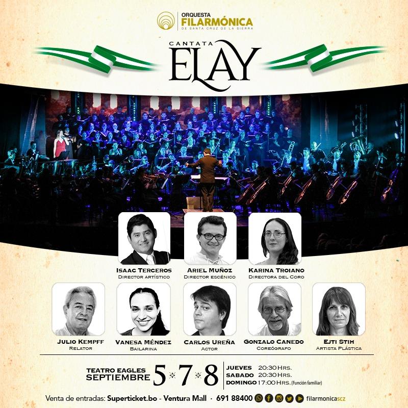 Música, teatro y tradición presentes en el estreno de la Cantata Elay