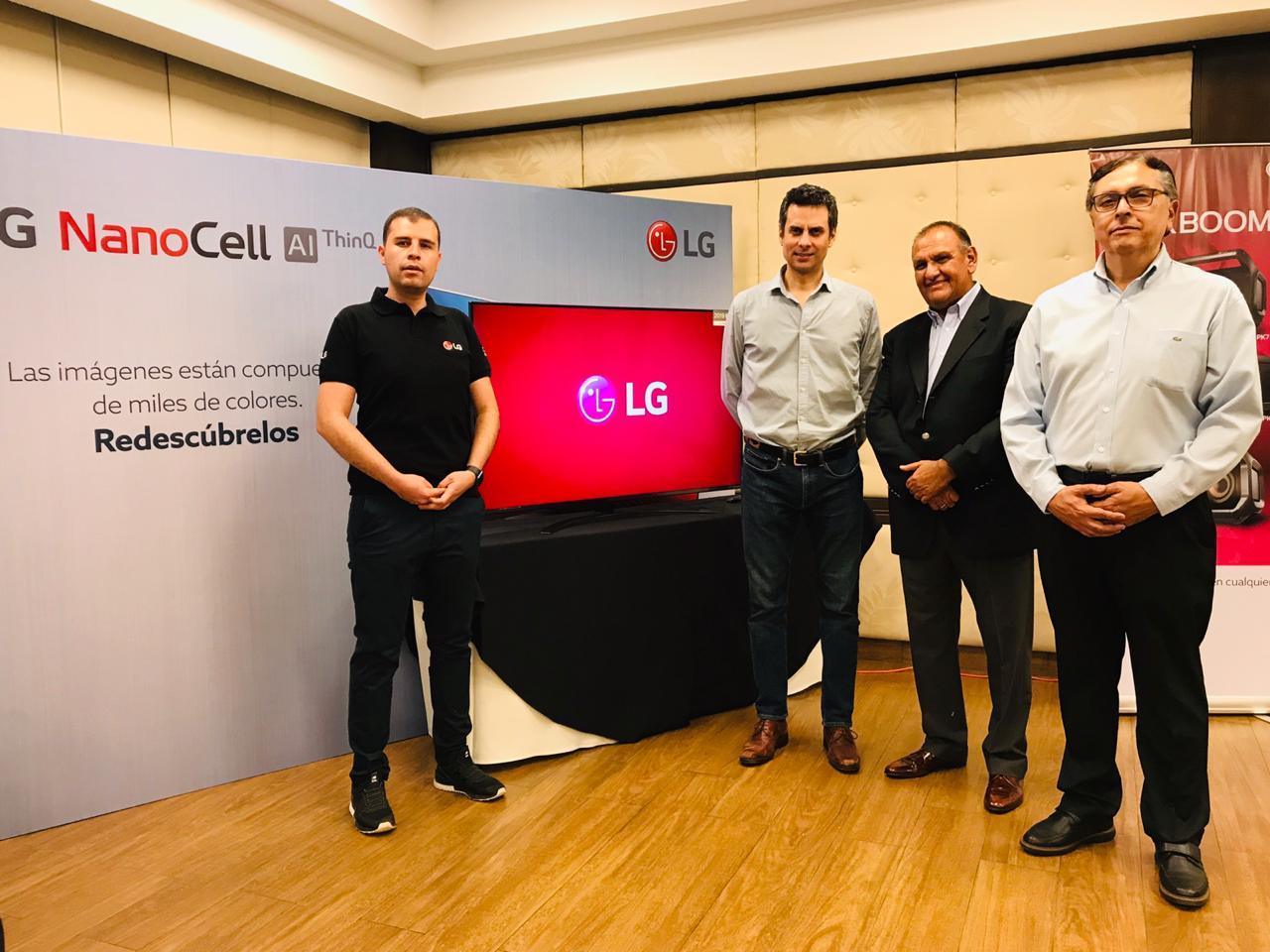 LG presentó su nueva gama de productos 2020 a sus mejores clientes