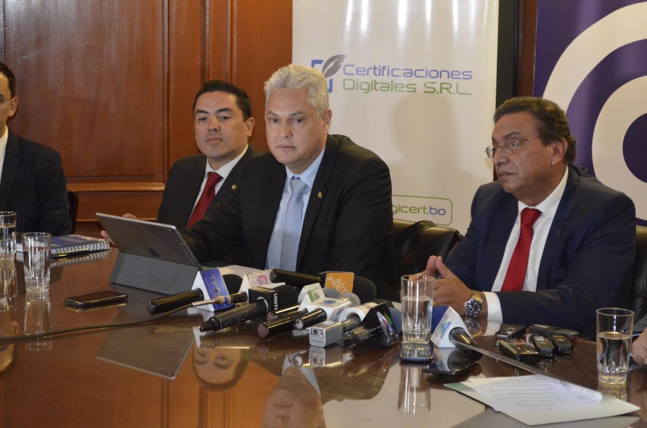Digicert es la primera empresa privada para emitir firmas digitales en Bolivia