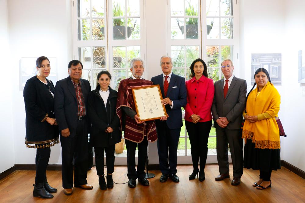 Fundación Cultural del BCB  recibe reconocimiento de España
