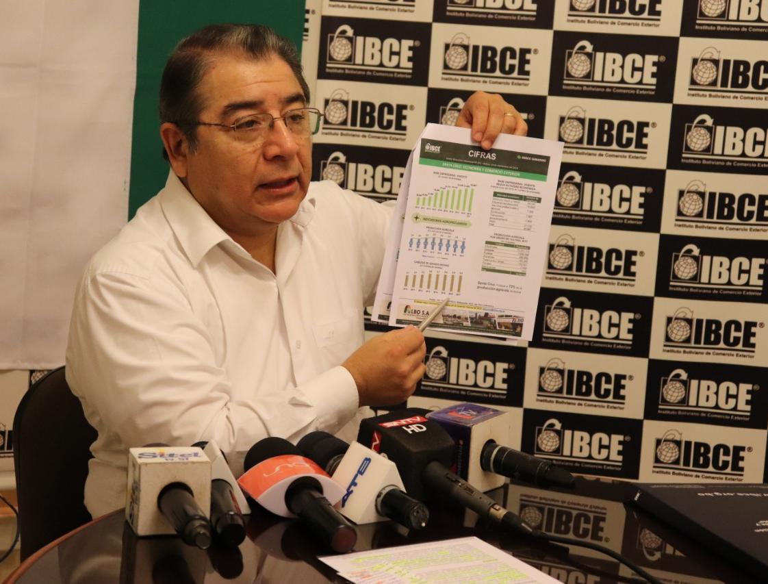IBCE: Modelo productivo cruceño es conformado por tierra, trabajo, capital, tecnología e institucionalidad