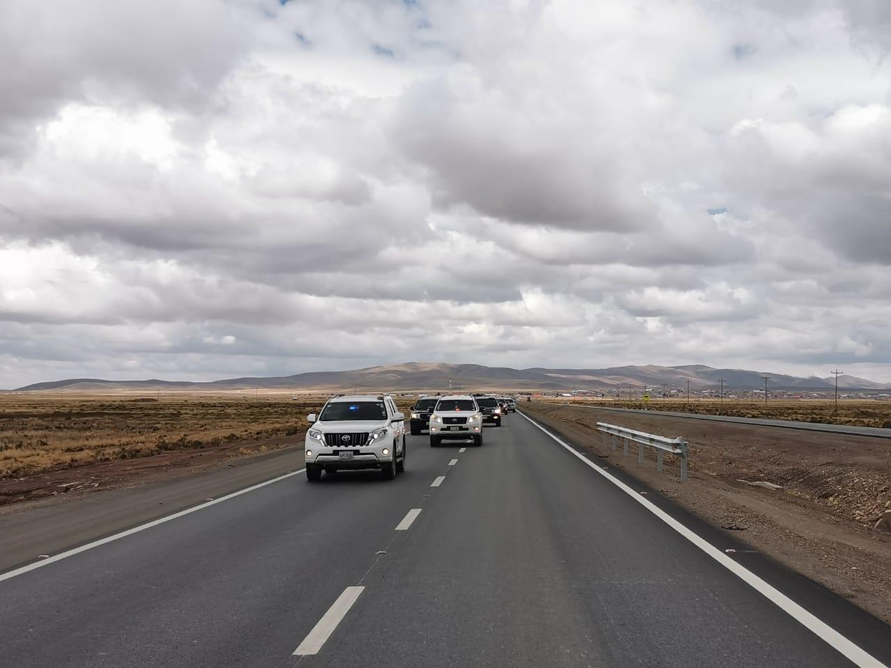 Inauguran dobre vía Caracollo – Confital y anuncian conexión directa hacia Santa Cruz