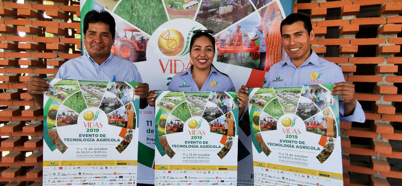 VIDAS 2019 promete mostrar las últimas innovaciones tecnológicas para el agro