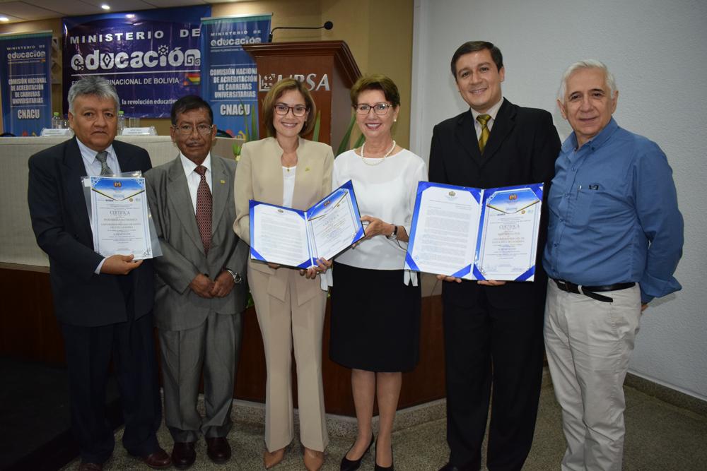 Civil, Industrial y de Sistemas de la UPSA con acreditación de Mercosur