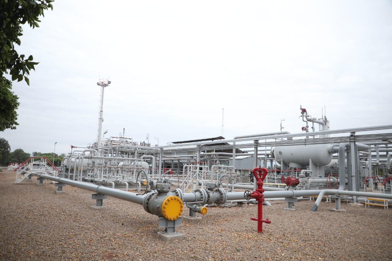 Operada por YPFB, la planta de gas La Vertiente incrementa su producción