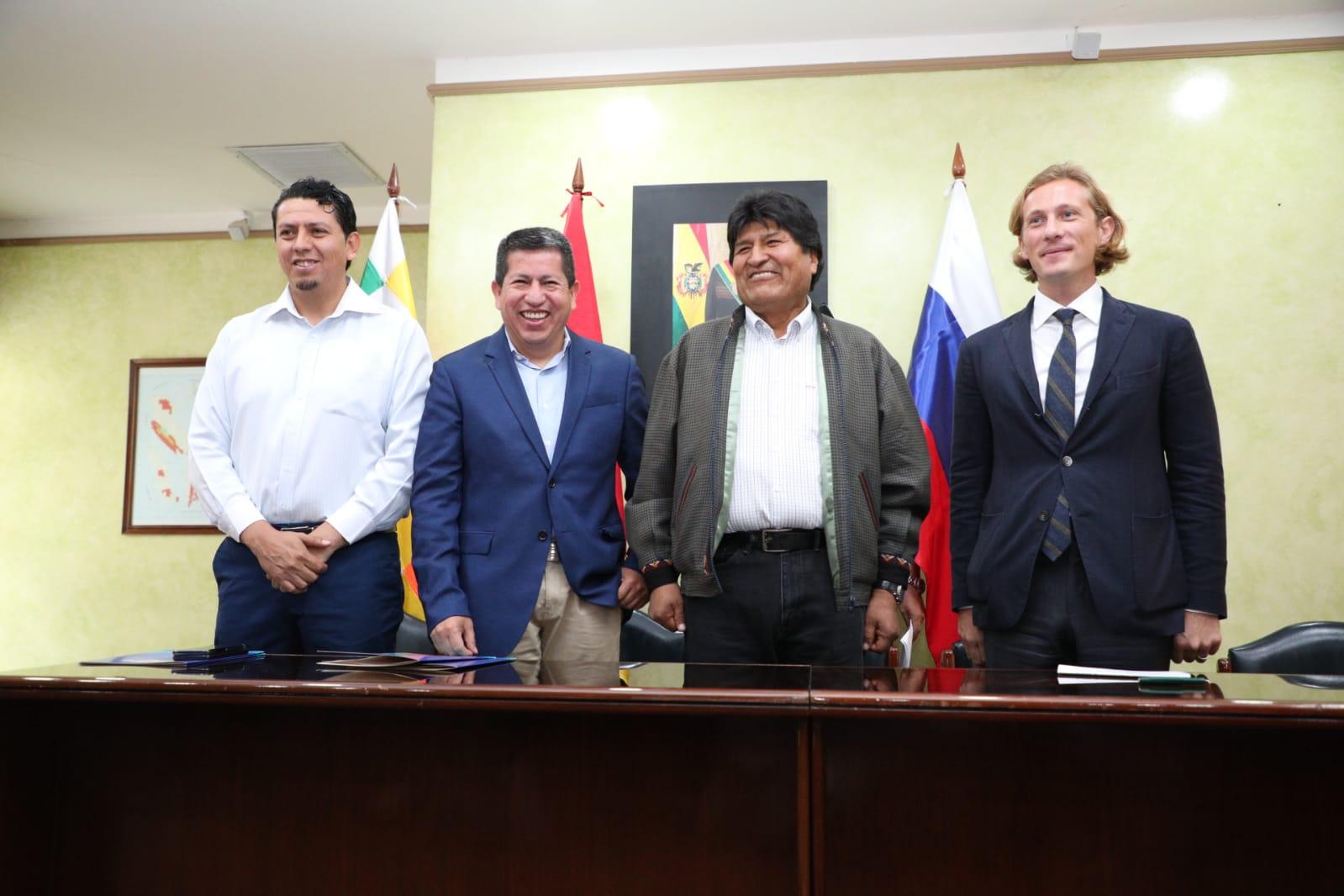 Rusa Acron y YPFB acuerdan venta de gas y conformación de una empresa conjunta de comercialización de urea en Brasil