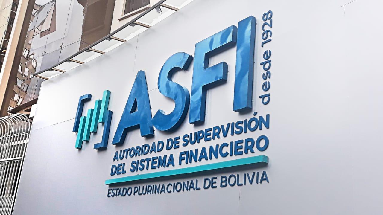 ASFI: Las entidades financieras mantienen un adecuado equilibrio financiero