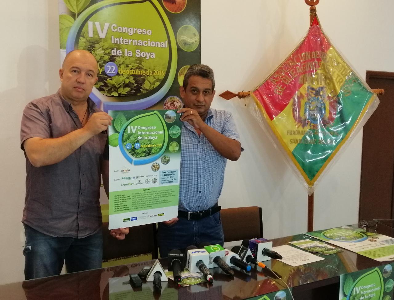 ANAPO organiza congreso Internacional de la Soya