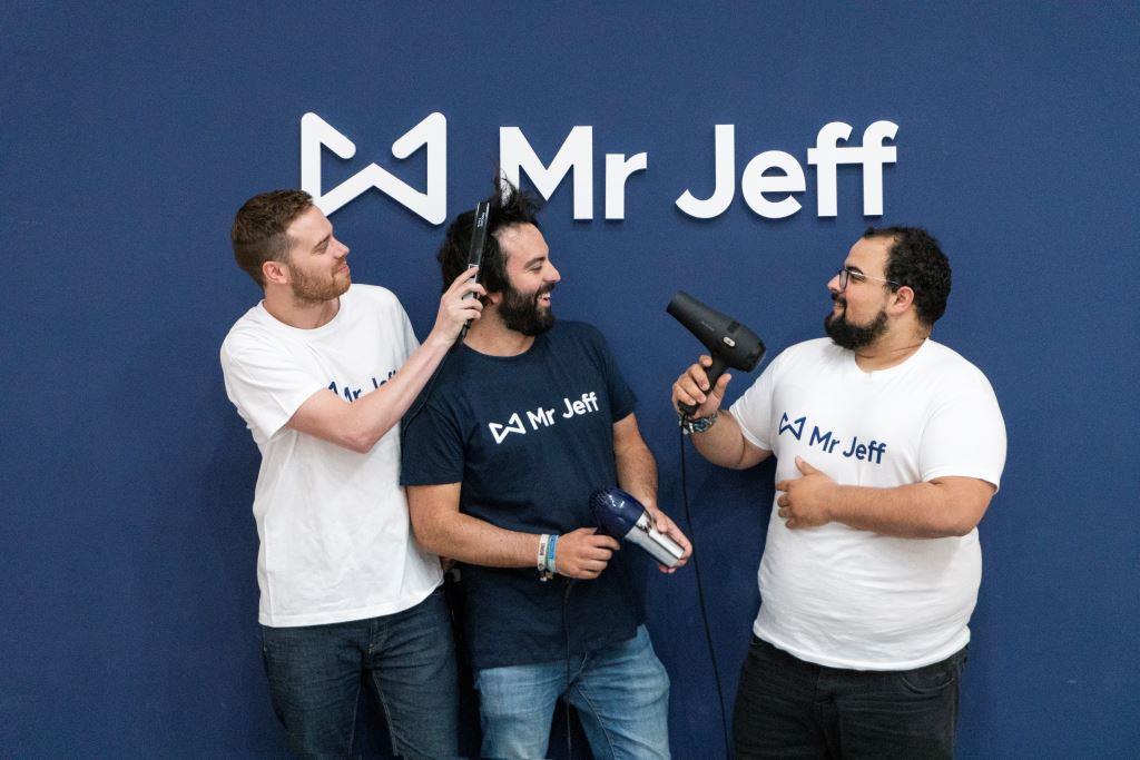 """Mr Jeff lanza nueva línea de negocio de peluquería y belleza y da el primer paso para convertirse en una """"super app"""""""
