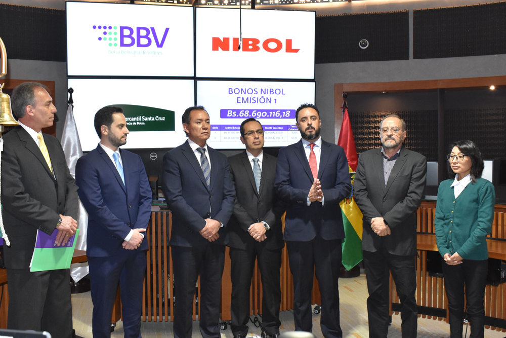 NIBOL Ltda. ingresa al mercado de valores y recibe financiamiento por Bs. 68 millones a través de la Bolsa Boliviana de Valores