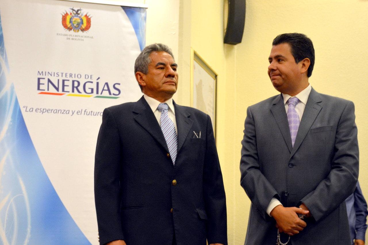 Ministro de Energías posesionó a nuevas autoridades de ENDE Corporación