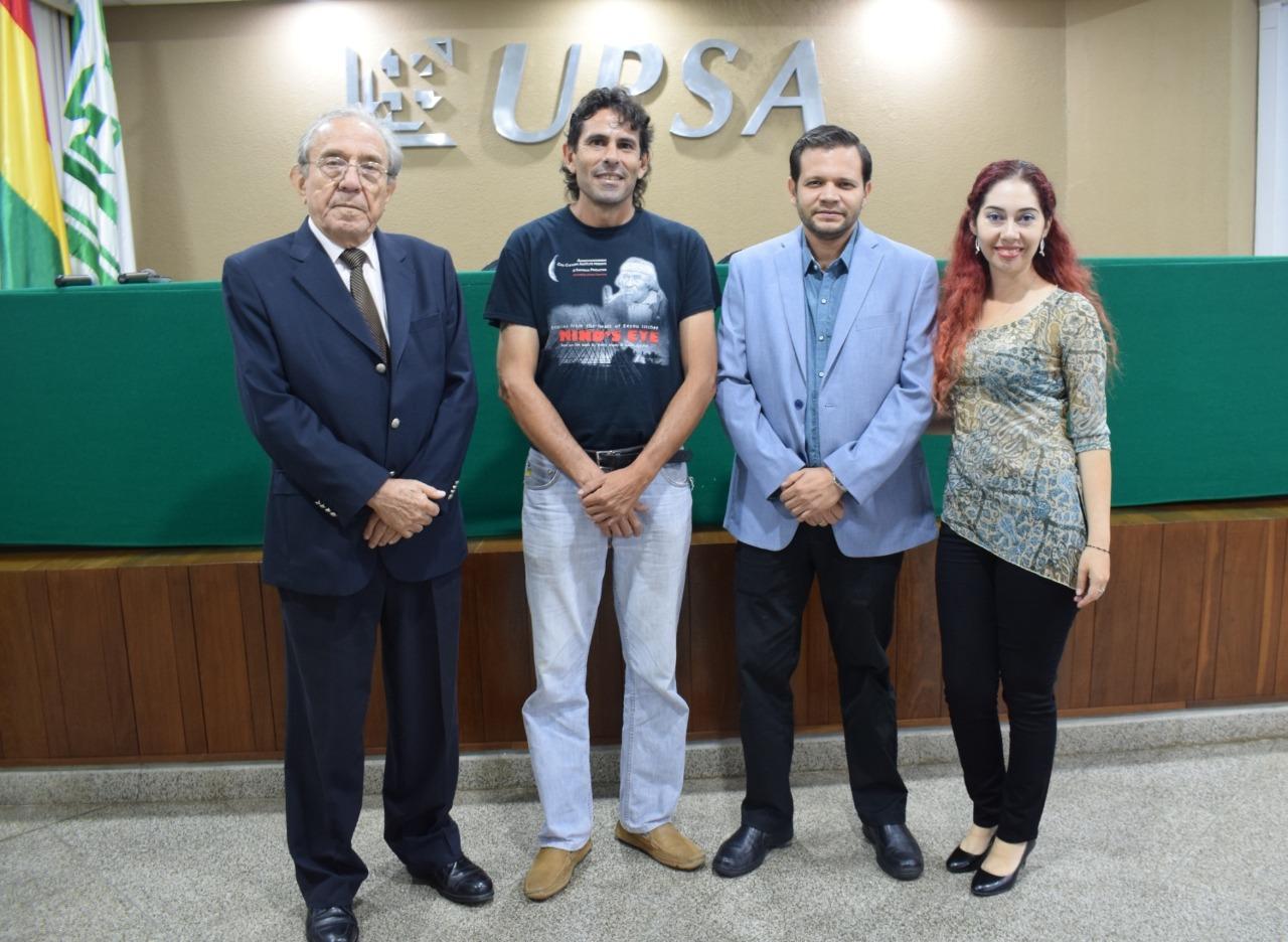 UPSA y ANCB  realizaron la VIII versión de café científico