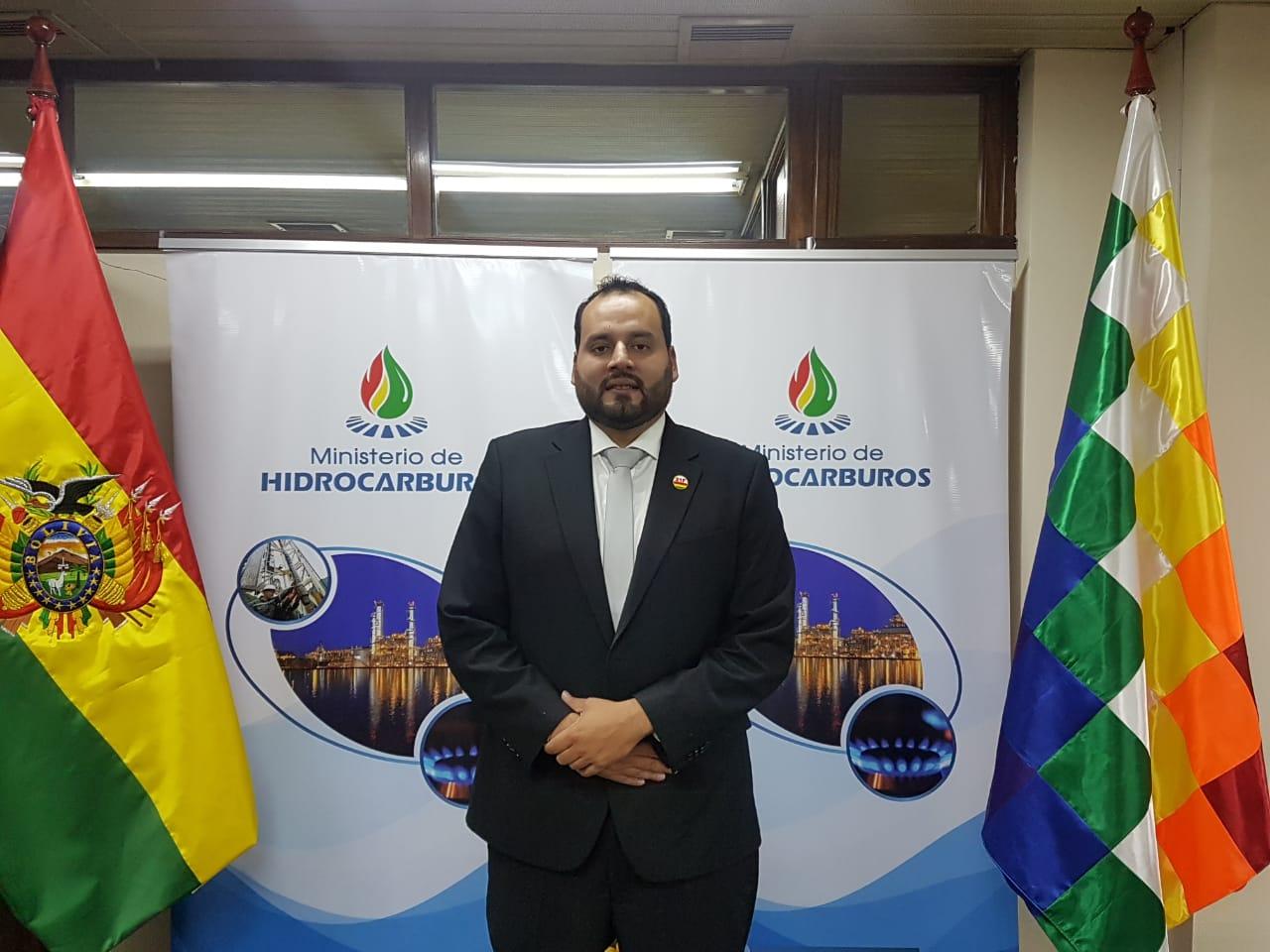 Herland Soliz es el nuevo Presidente de YPFB