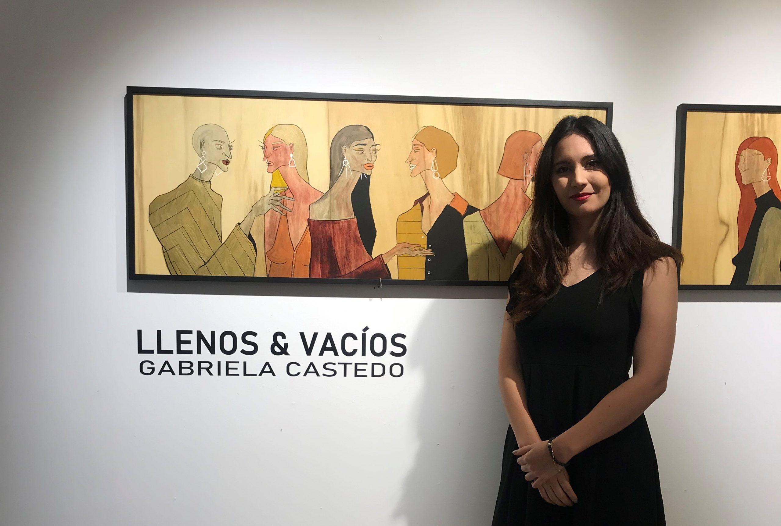 """La Galería de Arte de Los Tajibos abre sus puertas a """"Llenos y Vacíos"""" de Gabriela Castedo"""