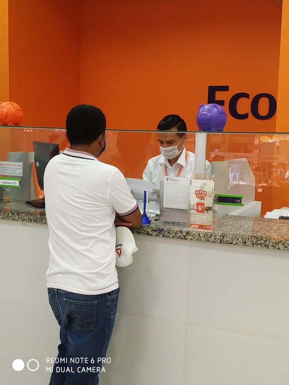Ecofuturo habilita 40 agencias  a nivel Nacional para el cobro de Bonos