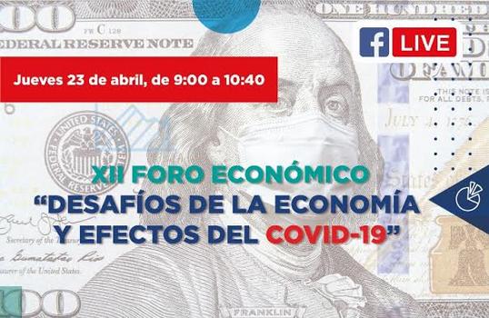 UPSA realizará foro económico virtual sobre Economía y efectos del COVID-19